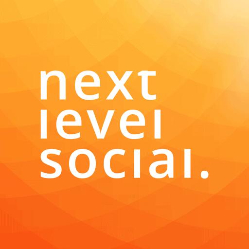 Next Level Social Media Management Logo